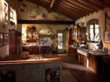 Unordinary italian rustic kitchen decorating ideas to inspire your home 35