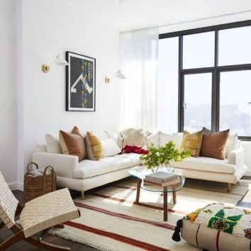 Amazing modern minimalist living room layout ideas 35