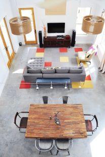 Amazing modern minimalist living room layout ideas 41