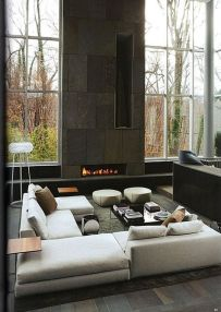 Amazing modern minimalist living room layout ideas 42