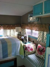 Antique diy camper interior remodel ideas you can try right now 02
