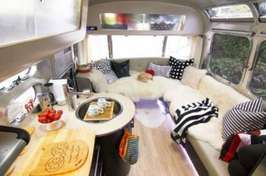 Antique diy camper interior remodel ideas you can try right now 43