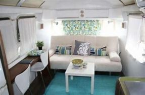 Antique diy camper interior remodel ideas you can try right now 47