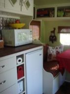 Antique diy camper interior remodel ideas you can try right now 48