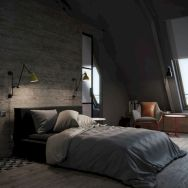 Attractive rustic italian decor for amazing bedroom ideas 25