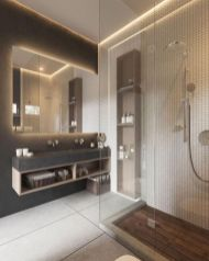 Best ideas how to creating minimalist bathroom 32