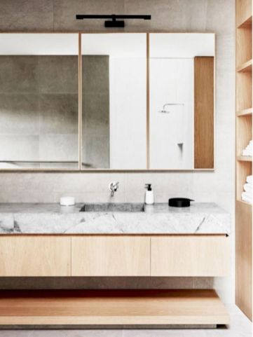 Best ideas how to creating minimalist bathroom 36