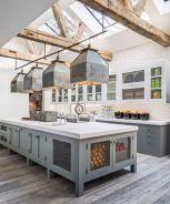 Brilliant rustic farmhouse kitchen cabinets remodel ideas 33