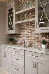 Brilliant rustic farmhouse kitchen cabinets remodel ideas 45