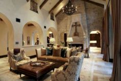 Chic home mediterranean interiors design ideas 05
