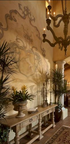 Chic home mediterranean interiors design ideas 36