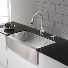Cool farmhouse kitchen sink remodel ideas 01