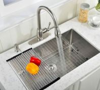 Cool farmhouse kitchen sink remodel ideas 17