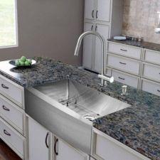 Cool farmhouse kitchen sink remodel ideas 19