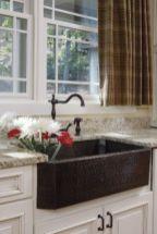 Cool farmhouse kitchen sink remodel ideas 28