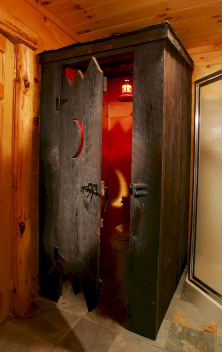 Cozy farmhouse bathroom makeover ideas 18
