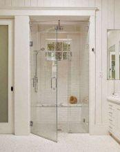 Cozy farmhouse bathroom makeover ideas 20