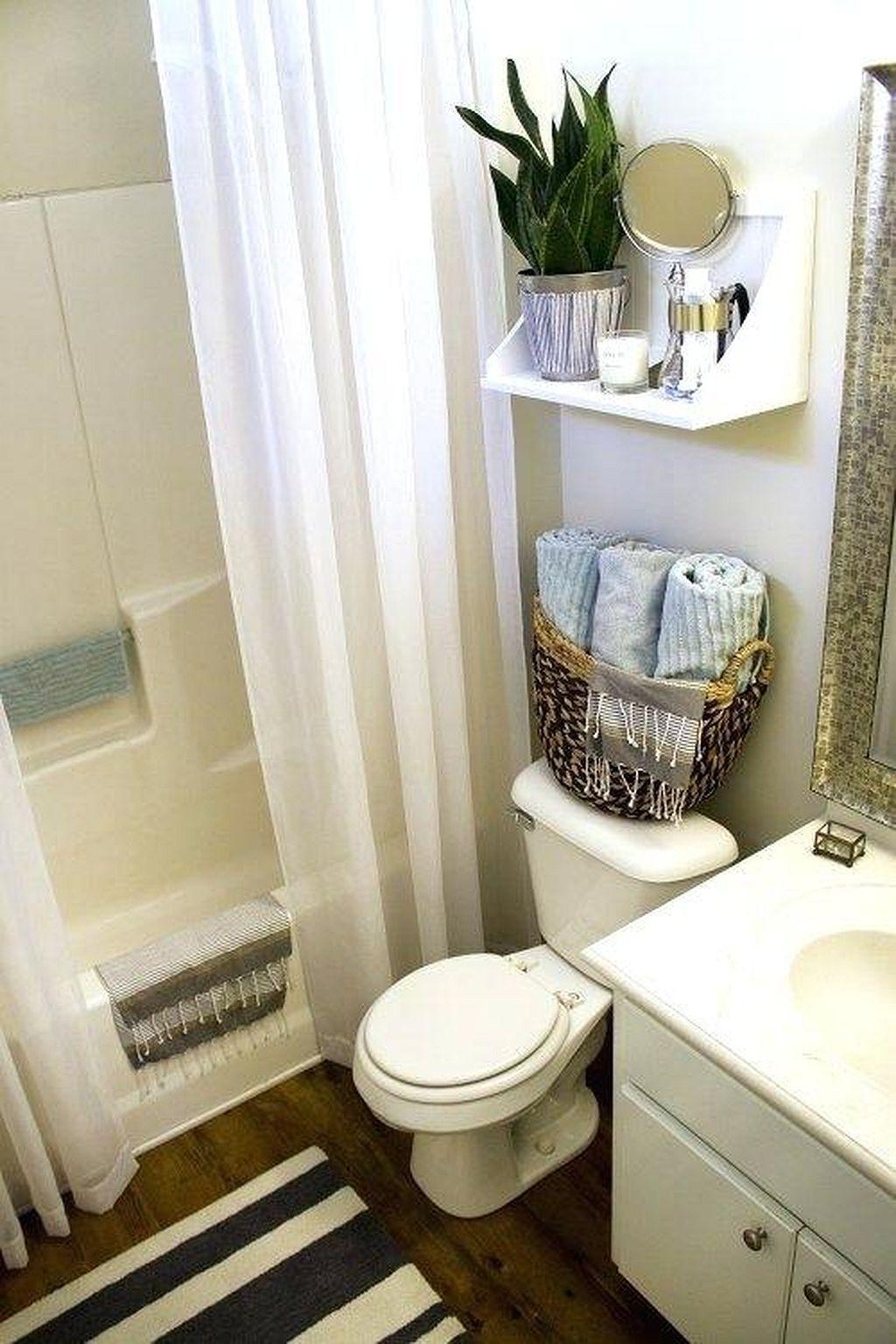 Creative diy bathroom makeover ideas 23