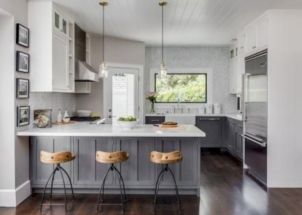 Cute kitchen remodels with white cabinets 04