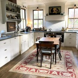 Cute kitchen remodels with white cabinets 12