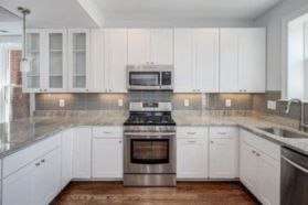 Cute kitchen remodels with white cabinets 32