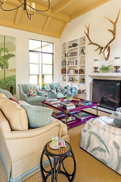 Dream home stay with comfortable living room ideas 19