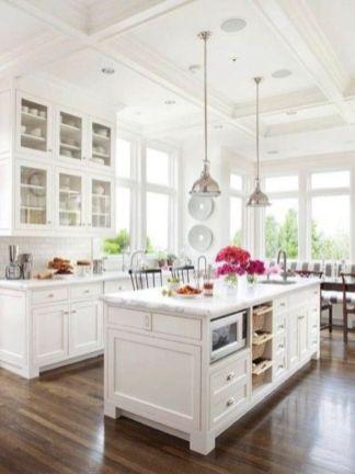 Fabulous all white kitchens ideas 26