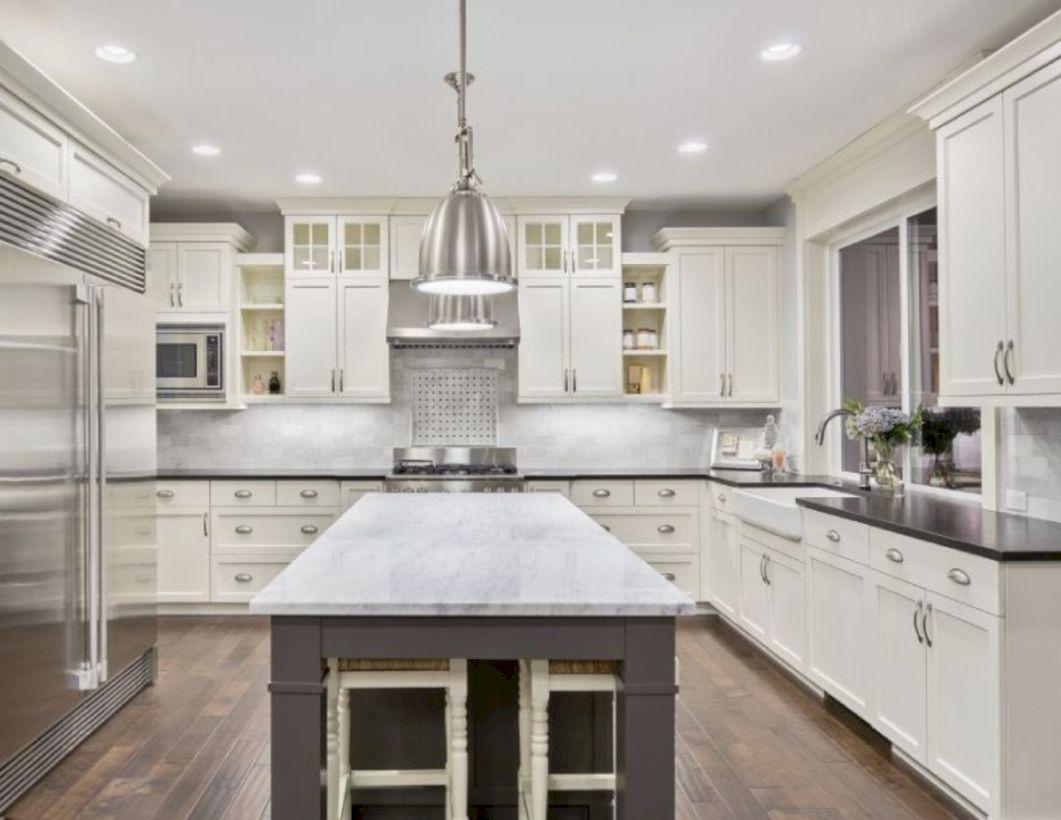 Fabulous all white kitchens ideas 41