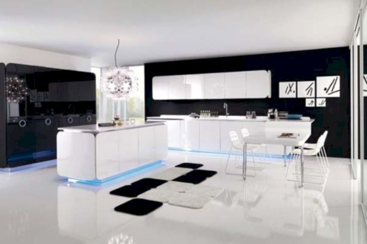 Fabulous all white kitchens ideas 43