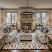 Fabulous farmhouse living room decor design ideas 02