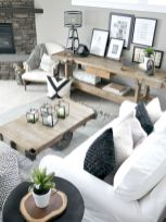 Fabulous farmhouse living room decor design ideas 03