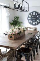 Fabulous farmhouse living room decor design ideas 18