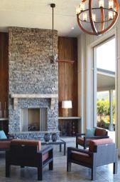 Gorgeous farmhouse living room decor design ideas 03
