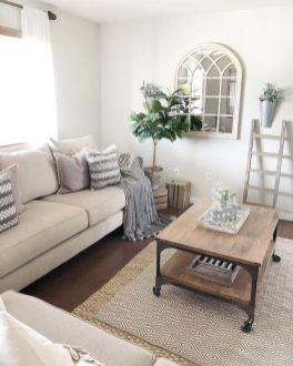 Gorgeous farmhouse living room decor design ideas 07