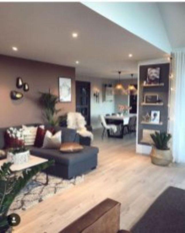 Gorgeous farmhouse living room decor design ideas 16