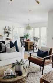 Gorgeous farmhouse living room decor design ideas 19