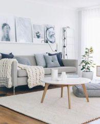 Gorgeous farmhouse living room decor design ideas 29