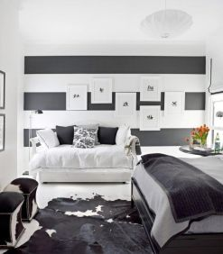 Gorgeous minimalist elegant white themed bedroom ideas 01