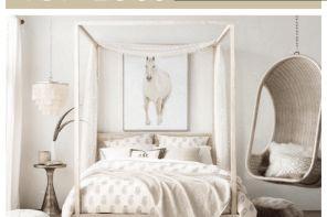 Gorgeous minimalist elegant white themed bedroom ideas 05