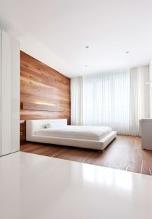 Gorgeous minimalist elegant white themed bedroom ideas 12