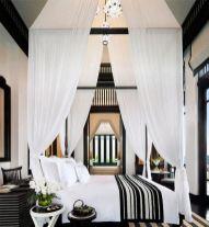 Gorgeous minimalist elegant white themed bedroom ideas 16
