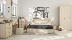 Gorgeous minimalist elegant white themed bedroom ideas 41