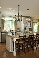 Impressive farmhouse country kitchen decor ideas 10