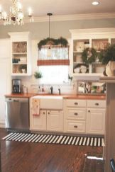 Impressive farmhouse country kitchen decor ideas 11