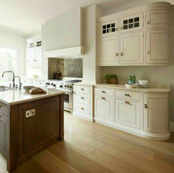Impressive farmhouse country kitchen decor ideas 22