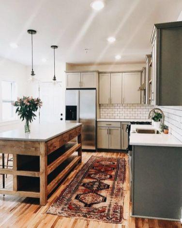 Impressive farmhouse country kitchen decor ideas 32