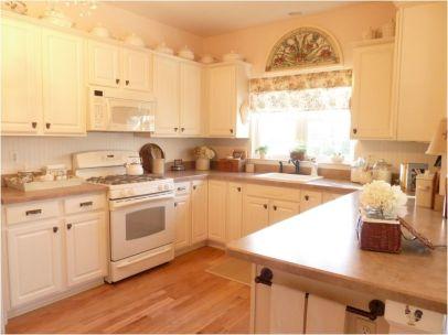 Impressive kitchens with white appliances 01
