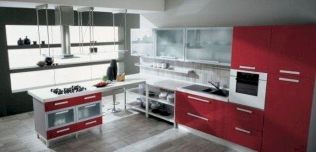 Impressive kitchens with white appliances 04