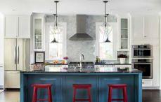 Impressive kitchens with white appliances 20