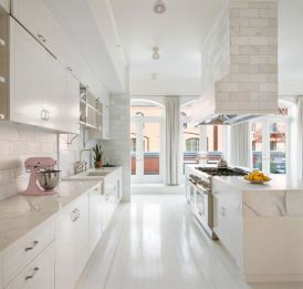 Impressive kitchens with white appliances 29